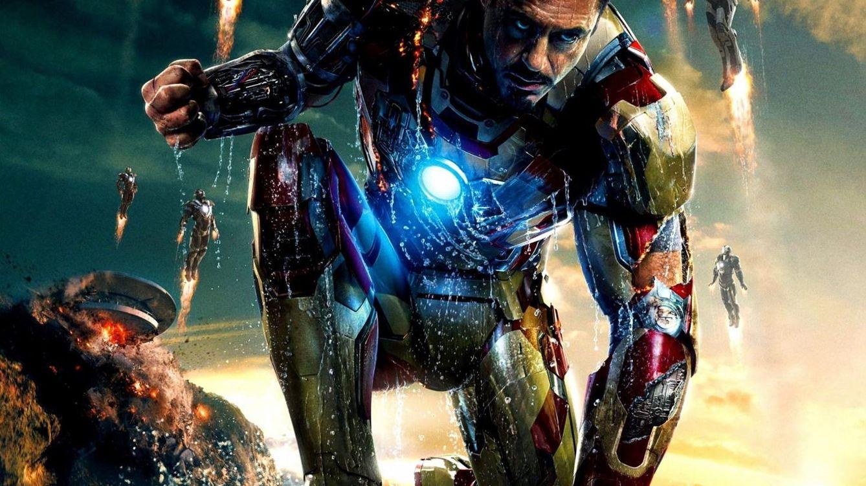 Foto: Robert Downey Junior en una imagen promocional de 'Iron Man 3'