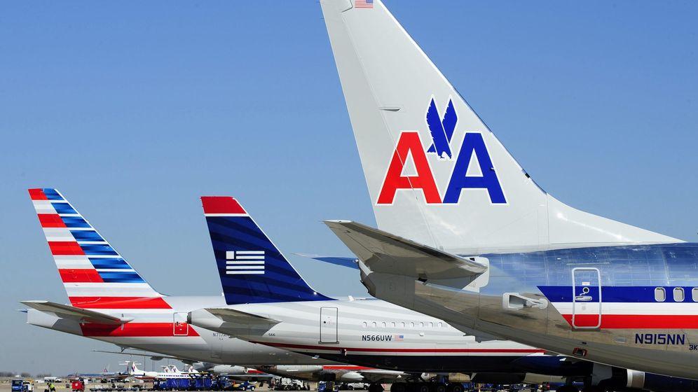 Foto: Tres aviones de la compañía más grande de Estados Unidos, American Airlines. (EFE)