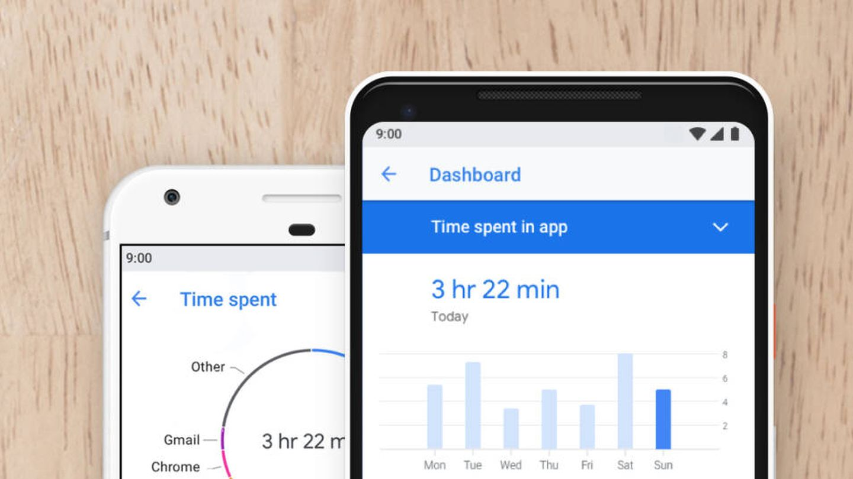 El nuevo programa de Android permite saber cuánto tiempo usamos cada 'app' (Fuente: Android)