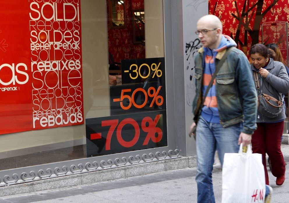 Foto: Un comercio de la calle Preciados de Madrid, una de las más comerciales de España (Efe).