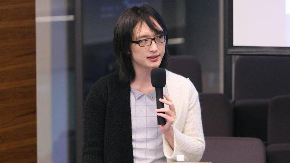 Foto: Audrey Tang, ministra digital de Taiwán