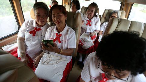 Los ancianos de Tailandia que han vuelto a la escuela