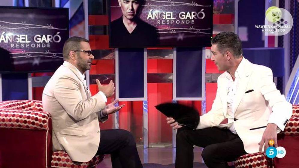 Foto: Ángel Garó en 'Sábado Deluxe'.