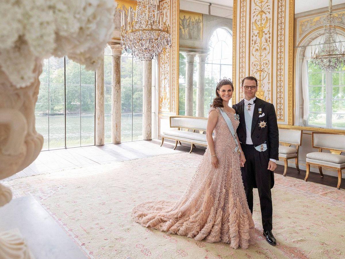 Foto: Victoria y Daniel de Suecia. (Kungahuset)