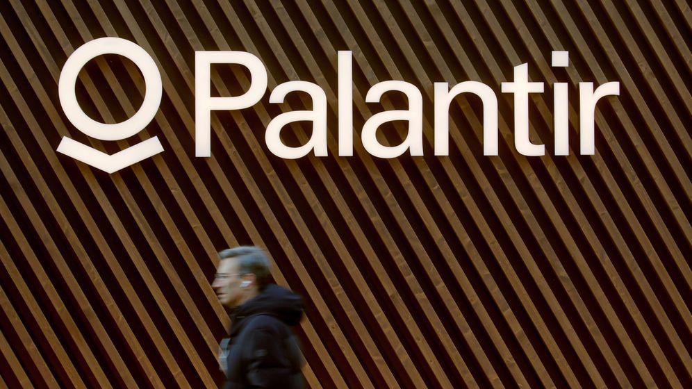 Foto: Logotipo de Palantir (Efe)