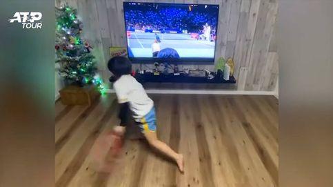 Yu Nosuke, el niño de seis años que asombra a internet imitando a Federer