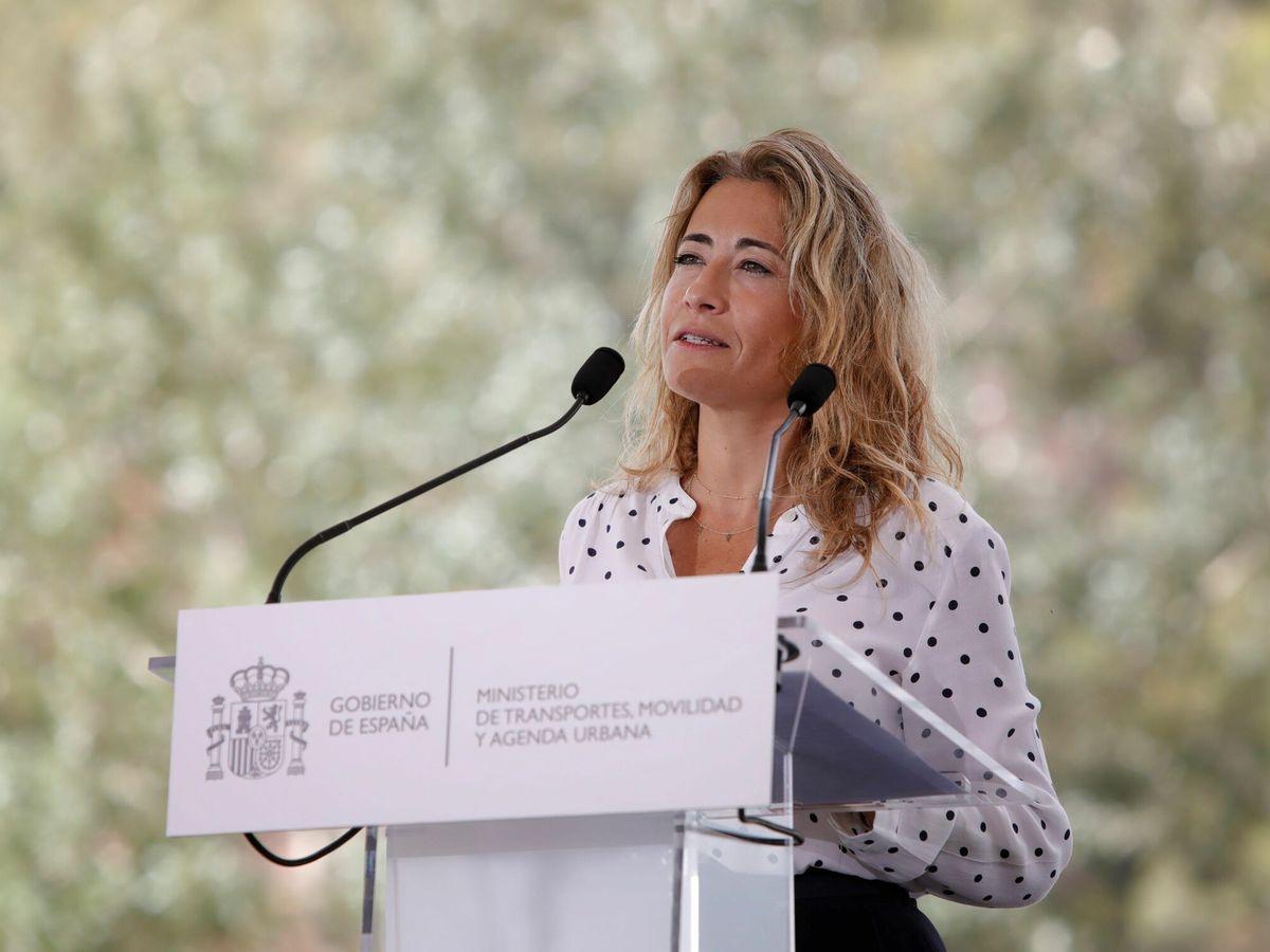 Foto: la ministra de Transportes, Movilidad y Agenda Urbana (Mitma), Raquel Sánchez