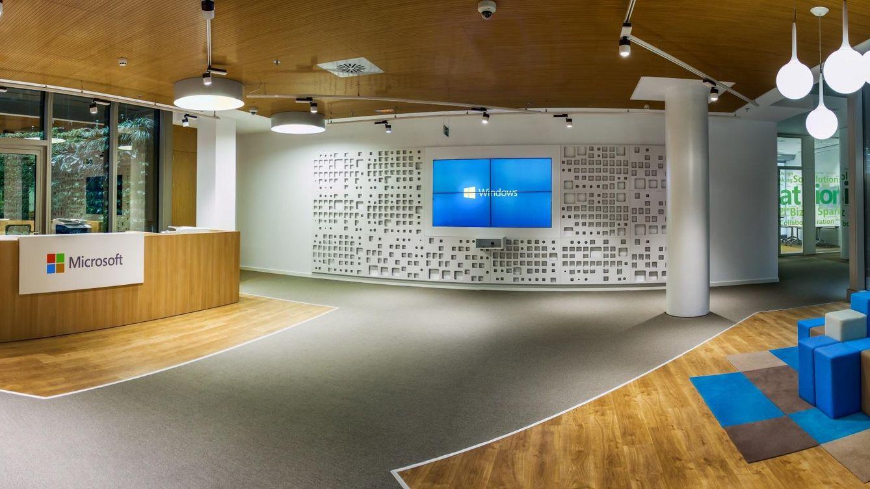 Ni futbol n ni sala de descanso as son las oficinas de for Oficinas de microsoft