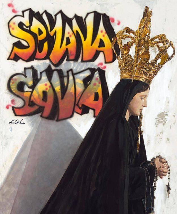 Foto: Cartel oficial de la Semana Santa de Málaga. (Ayuntamiento de Málaga)