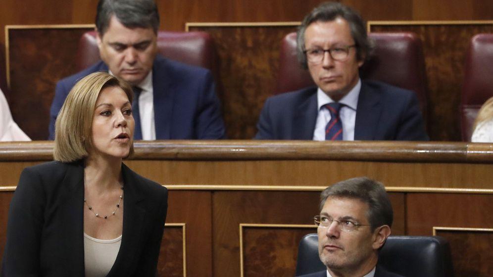 Foto: Segunda jornada de la moción de censura. (EFE)