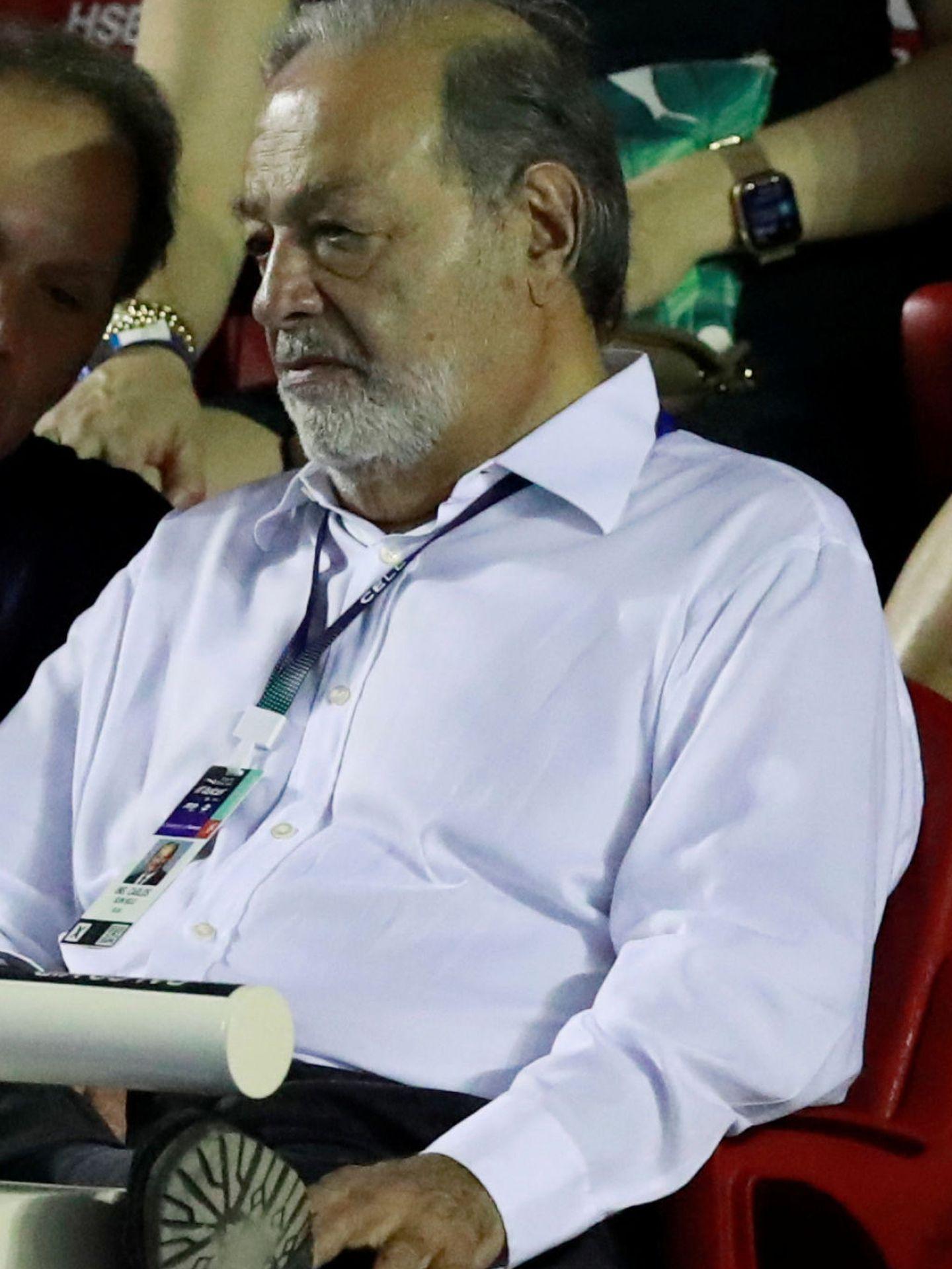 Carlos Slim, en una imagen reciente. (Reuters)