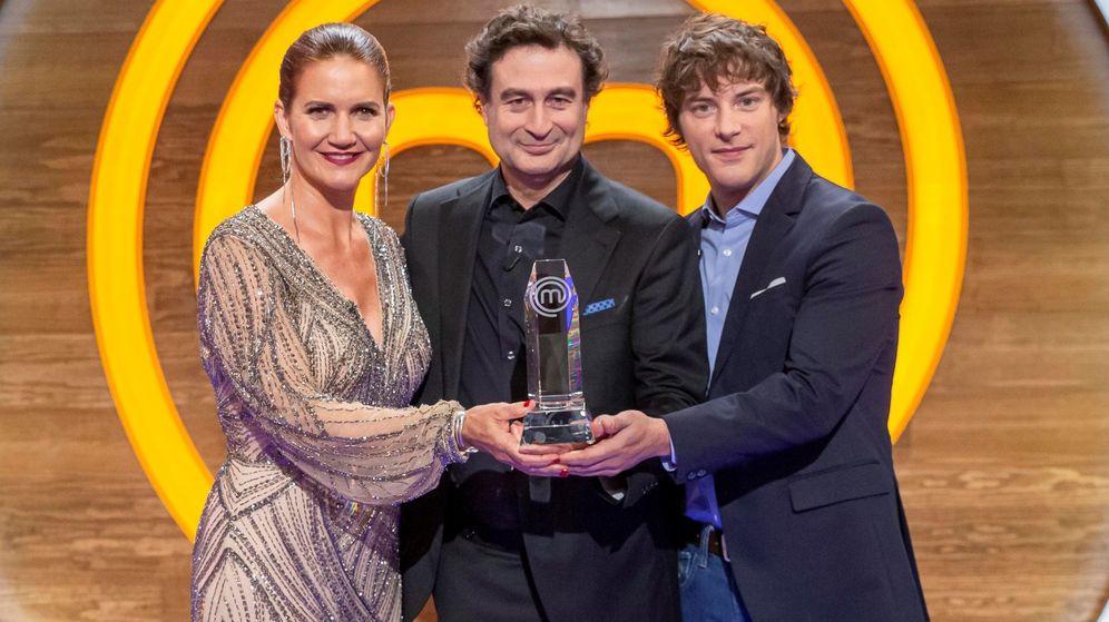 Foto: Los tres jueces de 'MasterChef'. (EFE)
