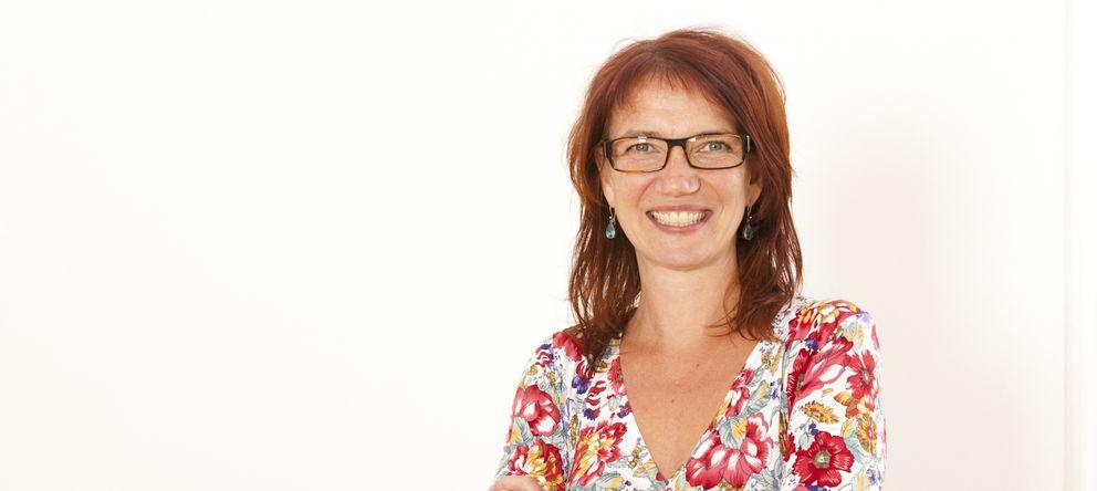 Foto: Sandra Schürmann partió de su experiencia personal para desarrollar su programa de ayuda a los jóvenes.