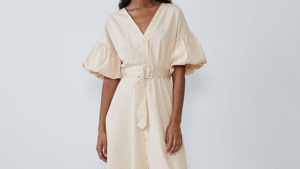 Con este vestido de Zara te prometemos que perderás una talla ¡y en verano!
