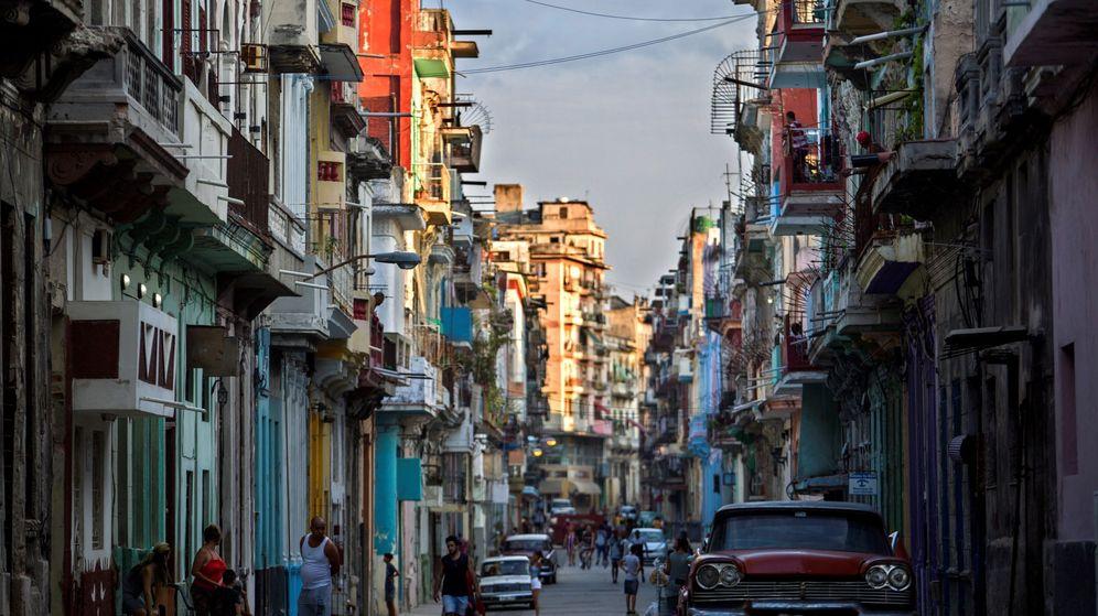 Foto: Vista de una de las calles del centro de La Habana. (EFE)