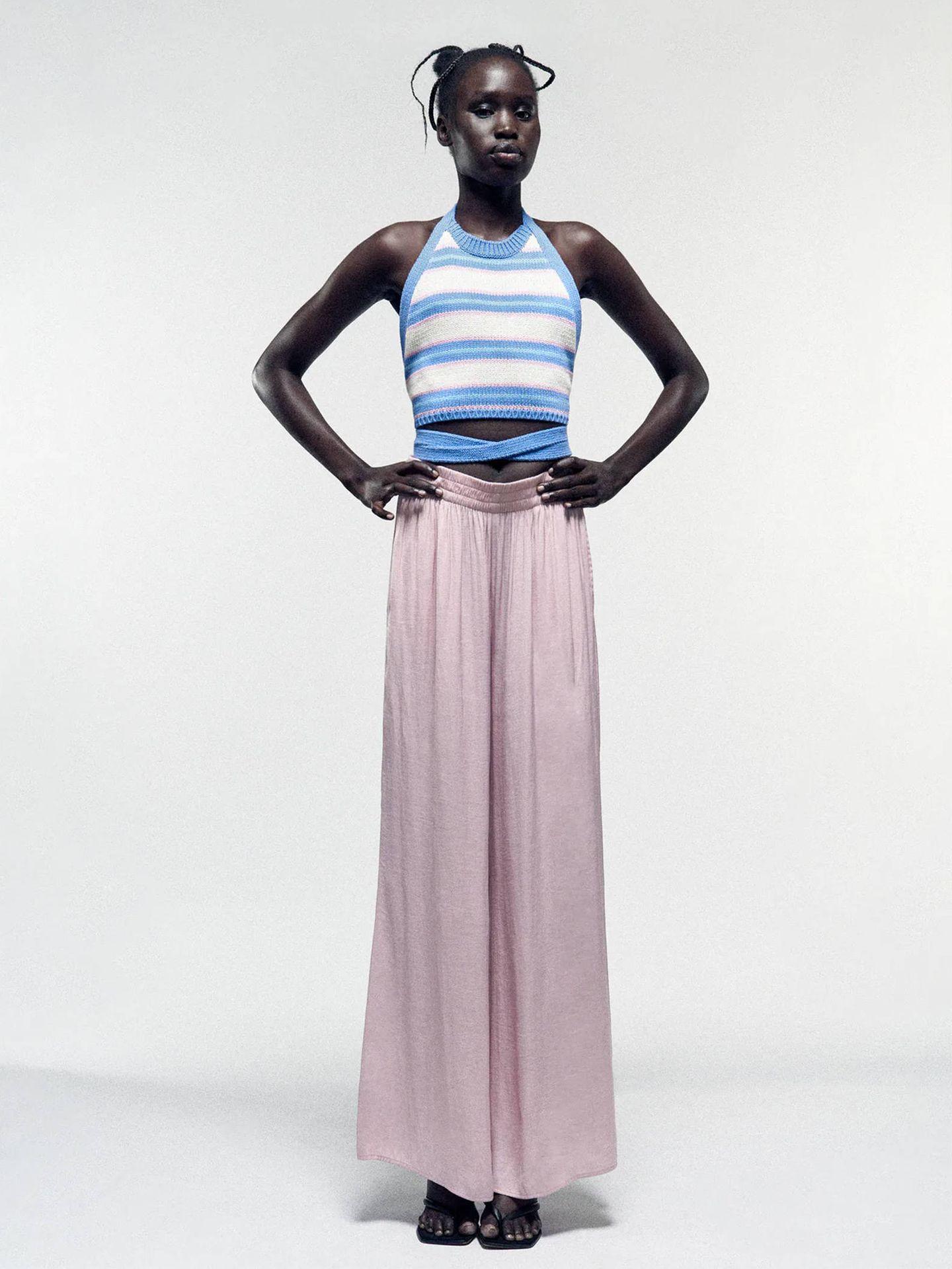 Pantalones de Zara. (Cortesía)
