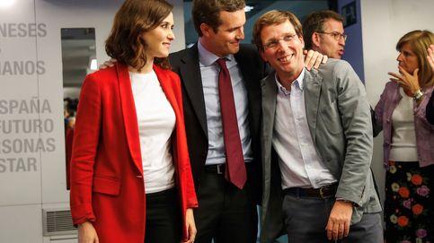 El PP reitera a CS que Almeida es innegociable y descarta consejerías para Vox
