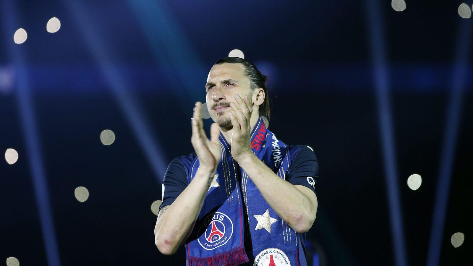 Foto: Zlatan Ibrahimovic deja el París Saint Germain para iniciar una nueva aventura en otra parte (EFE)
