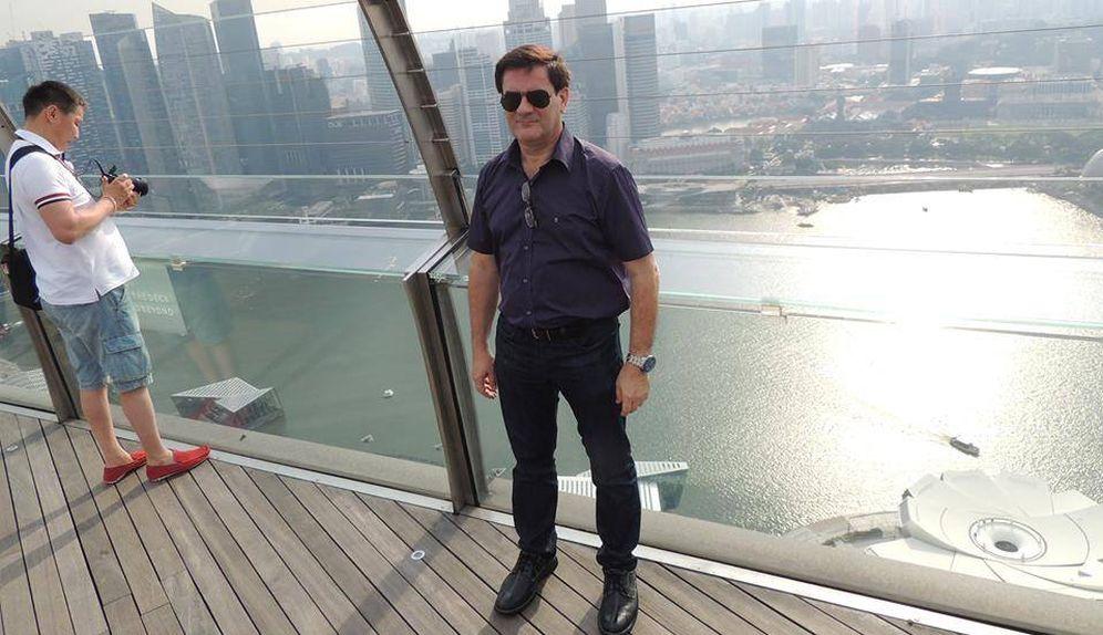 Foto: Hervé Jaubert años atrás en Dubái