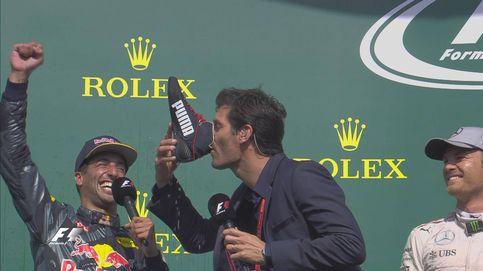 Rosberg hace la pole el día que McLaren 'brilla' con Button pero no con Alonso
