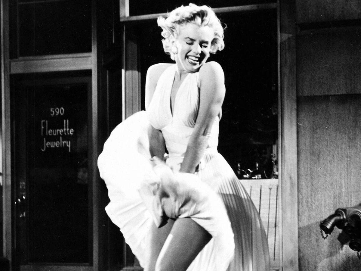 Foto: Marilyn Monroe, en 'La tentación vive arriba'. (Cortesía)