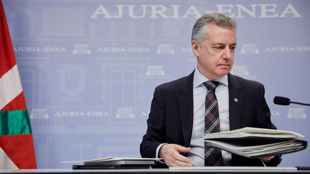 Foto: El 'lehendakari', Iñigo Urkullu. (EFE)