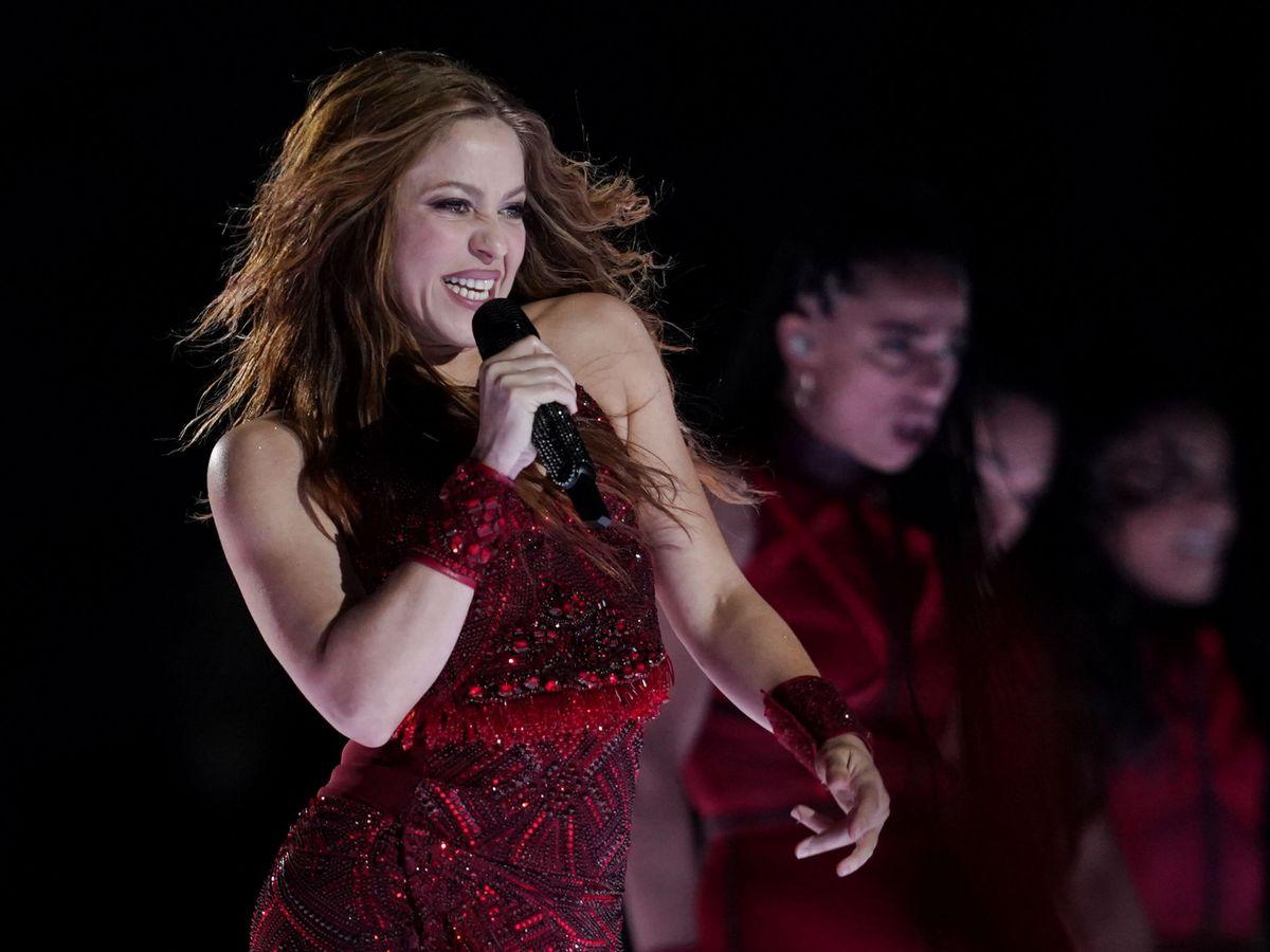 Foto: Shakira. (Reuters)