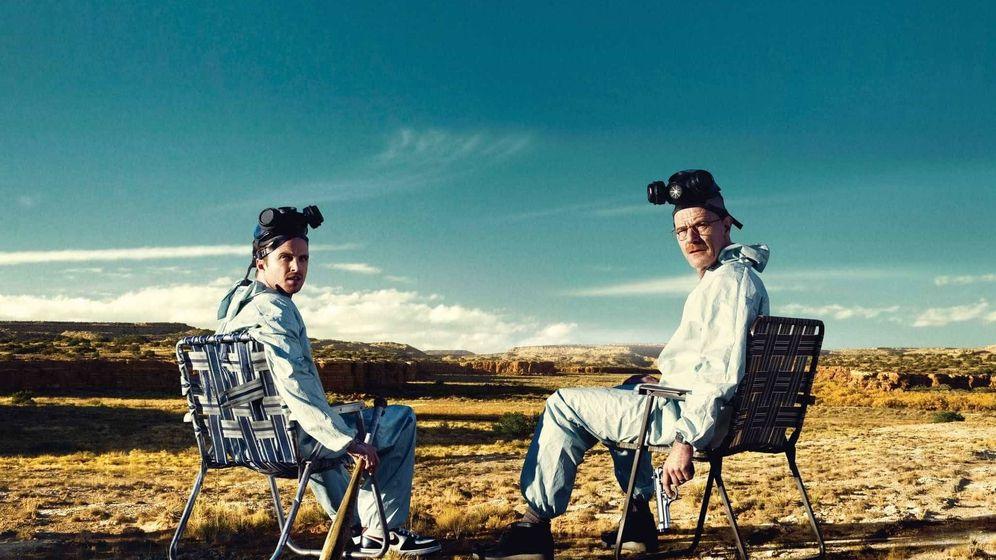 Foto: Imagen promocional de la tercera temporada de 'Breaking Bad'.