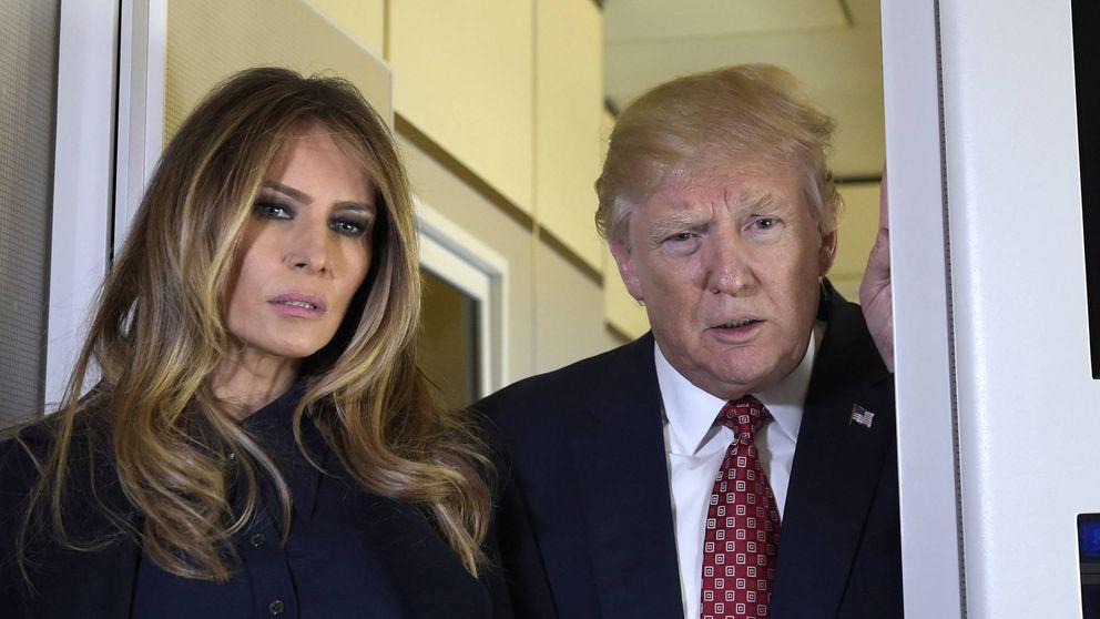 La imagen pública de Melania Trump, muy superior a la de su marido