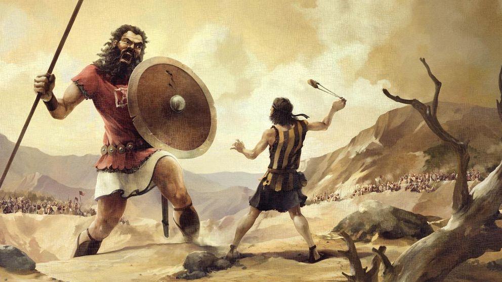 La historia de David y Goliat te hará replantearte todo lo que sabías