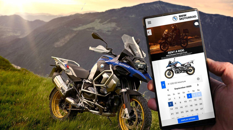El servicio 'Rent a Ride' nos permite elegir nuestro modelo preferido de BMW en las fechas y lugares que prefiramos. O acceder a ofertas ventajosas si somos flexibles con la moto, la fecha o el lugar.