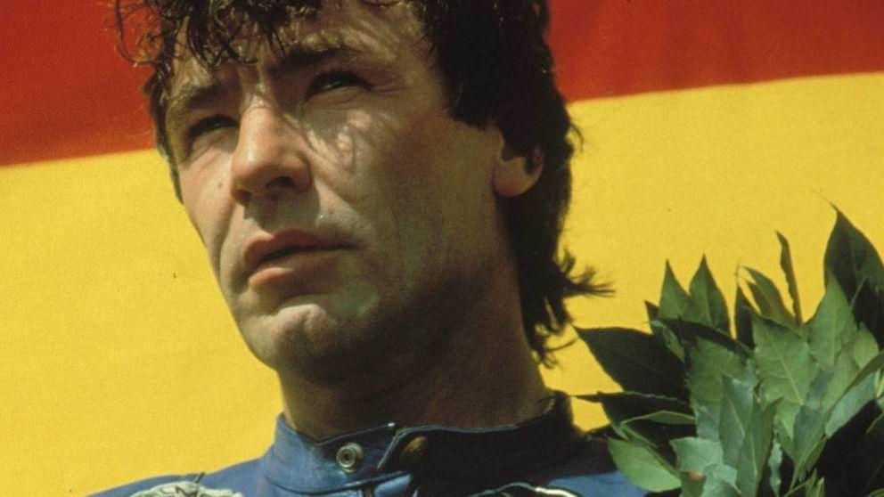 Un año sin Ángel Nieto: el recuerdo del 12+1 veces campeón, en un mural de Ibiza