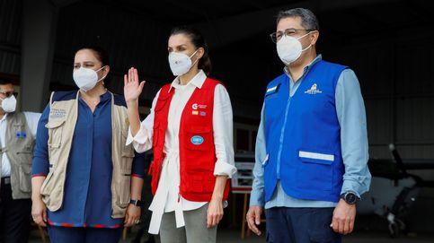 24.000 test de covid, 3.500 mosquiteras... Letizia hace entrega de material humanitario en Honduras