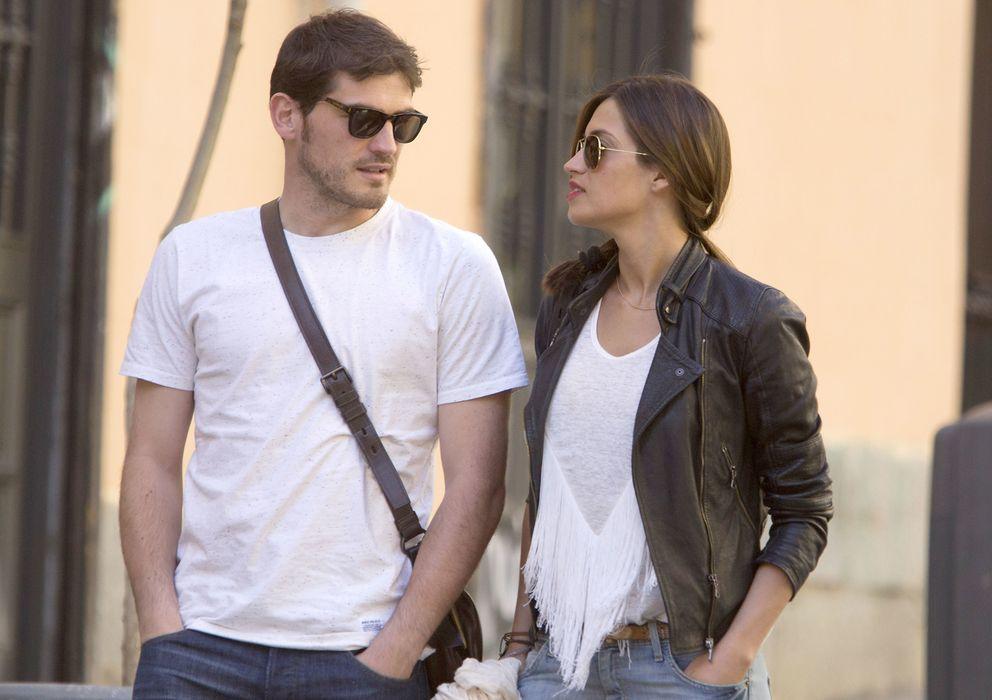 Foto: Iker y Sara en una fotografía de archivo (Gtres)