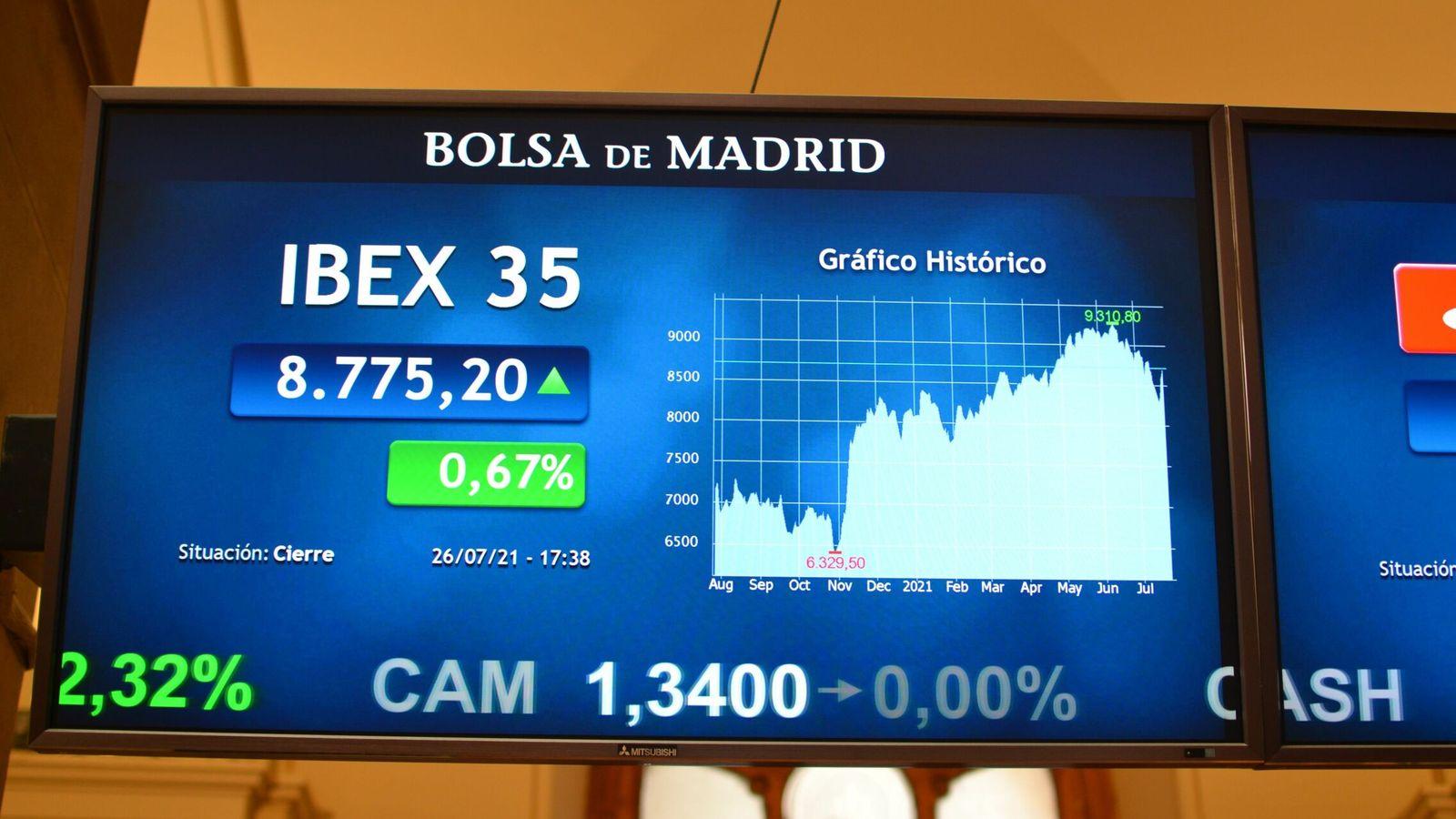 El Ibex encara en racha la temporada de resultados: gana un 6% en las últimas cinco sesiones