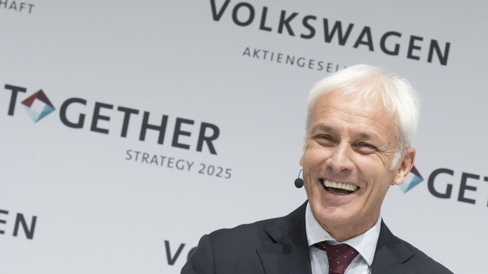 Foto: El presidente de Volkswagen, Matthias Müller. (EFE)