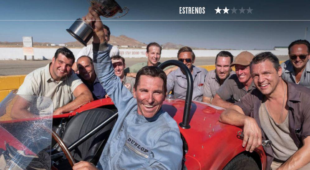 Foto: Christian Bale es Ken Miles en 'Le Mans '66'. (Fox)