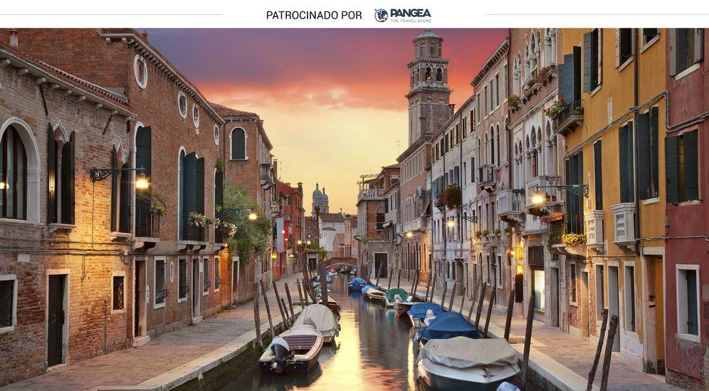 Foto: Panorámica de uno de los canales de Venecia. (iStock)
