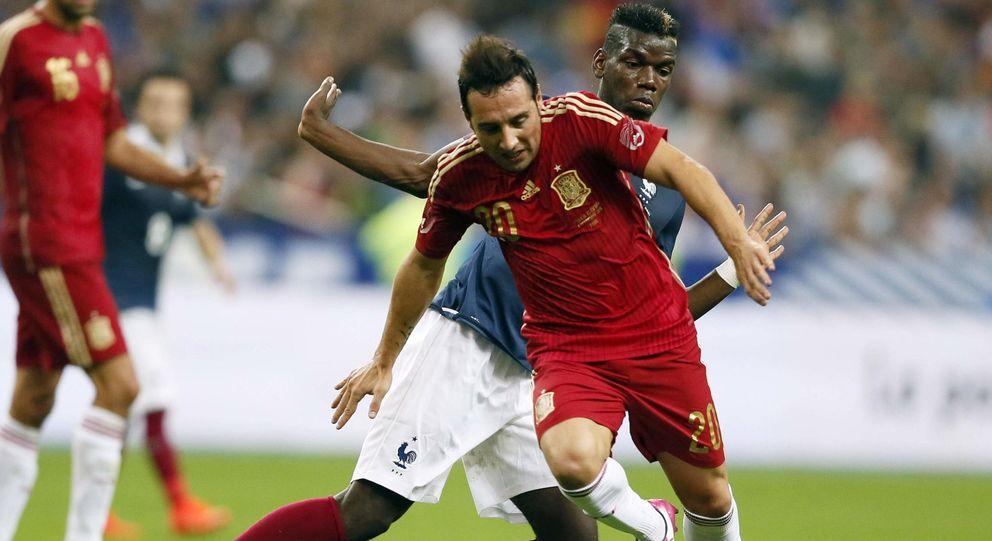 Foto: Desde que debutara en el 2008, Cazorla ha sido uno de los habituales en la selección española (Reuters)