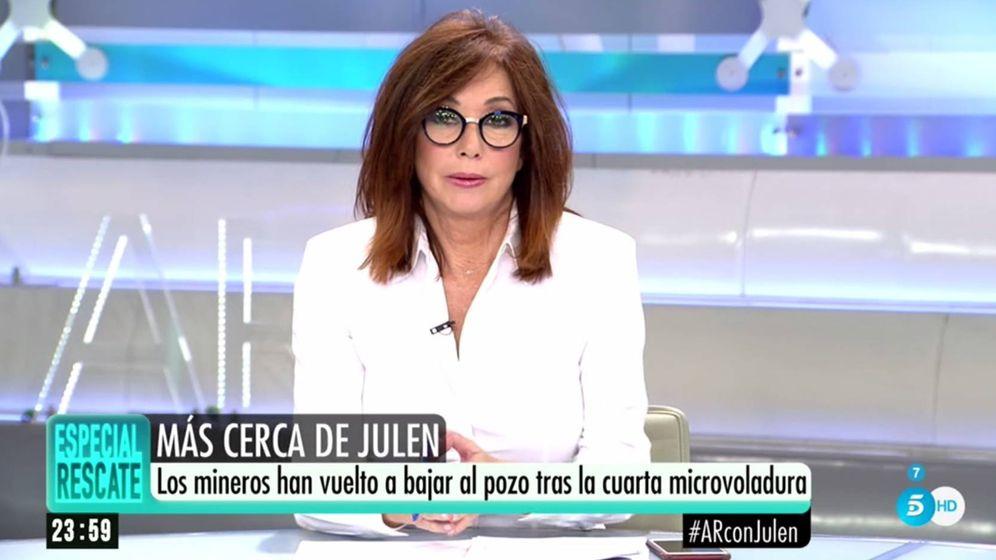 Foto: Ana Rosa Quintana. (Telecinco).