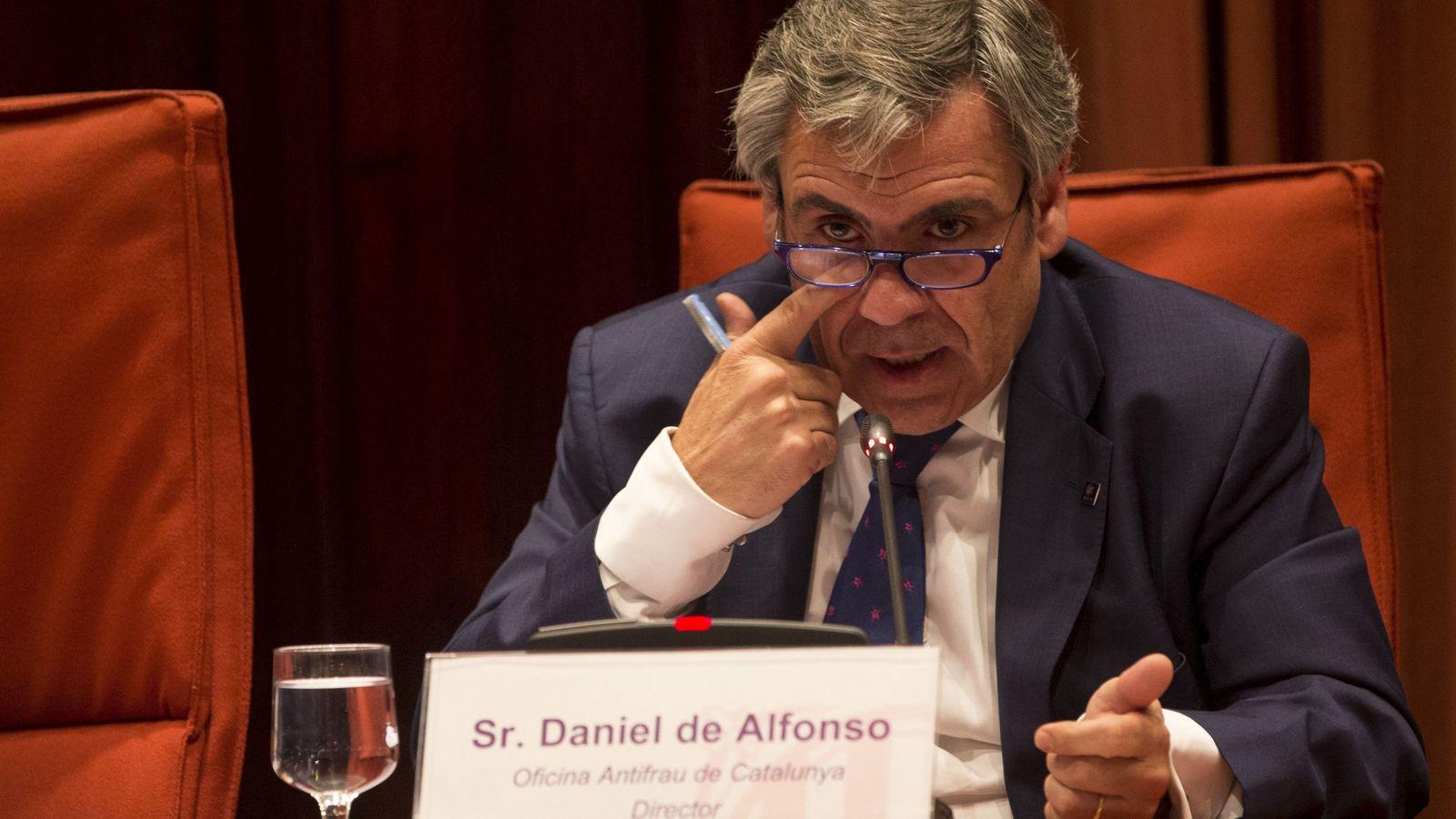 Foto: El exdirector de la Oficina Antifraude de Cataluña Daniel de Alfonso. (EFE)