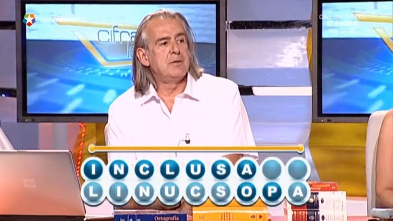Antonio Elegido, el experto en letras de 'Cifras y letras'. (Telemadrid)