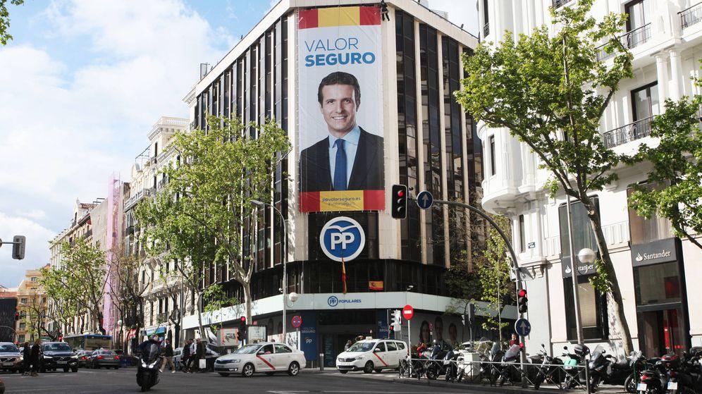 Foto: Sede del PP en la calle Génova. (Enrique Villarino)
