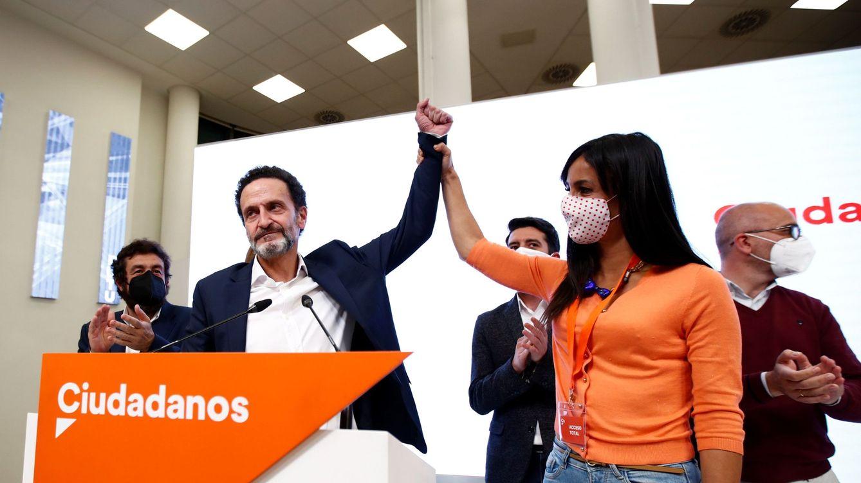 Lo que queda de Cs en Madrid tras el 4-M: Villacís, 8 alcaldes y 1 millón menos al año