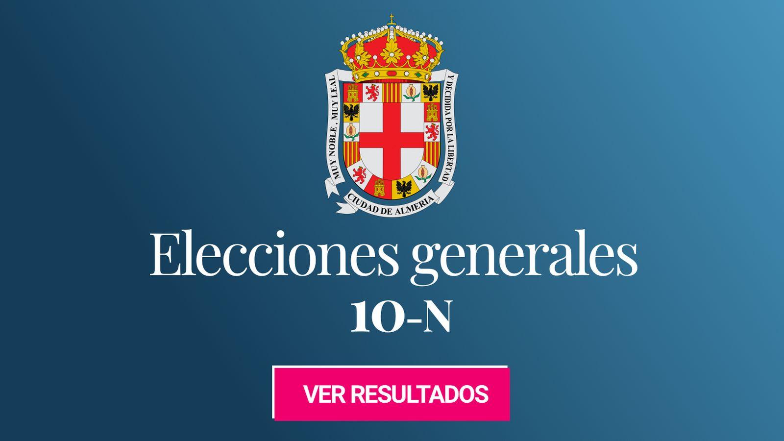 Foto: Elecciones generales 2019 en Almería. (C.C./EC)