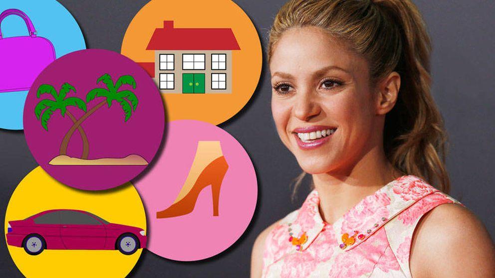 Balenciaga, Jimmy Choo... Estas son las excentricidades de Shakira