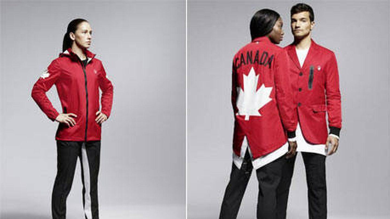Foto oficial de los diseños de Canadá para los JJOO 2016. Cortesía