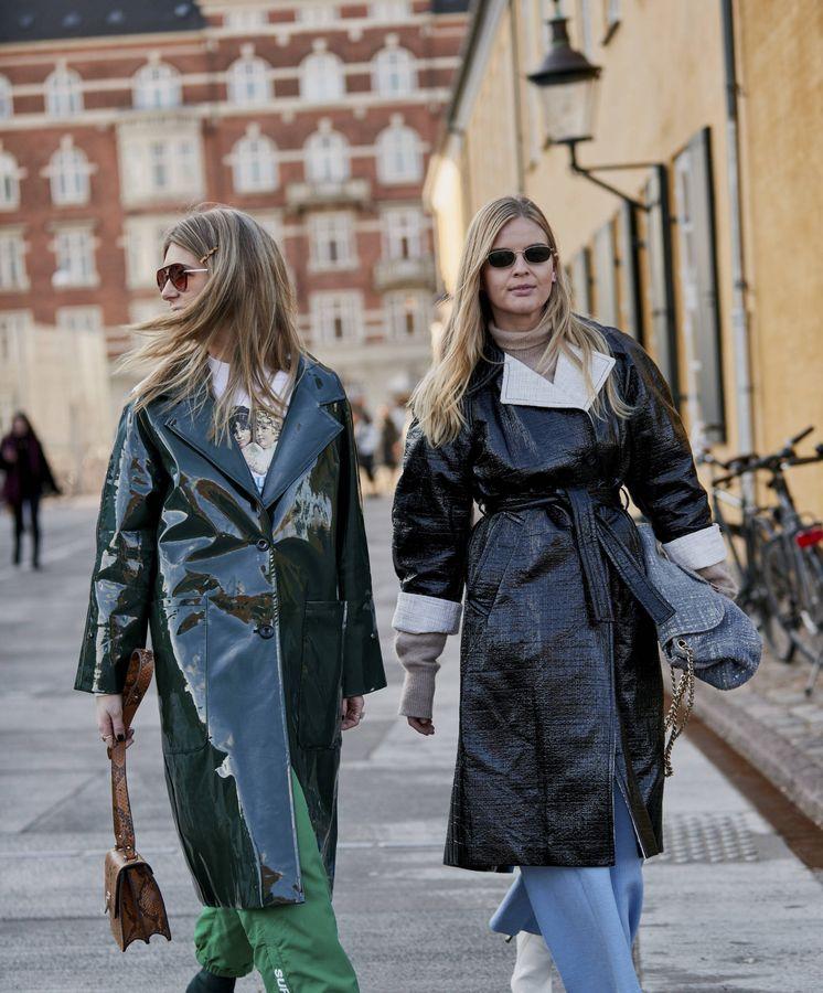 Foto: El tacón sensato es un éxito, lo vemos en eventos como la Semana de la Moda de Copenhague. (Imaxtree)