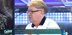 Post de Paco Porras ataca a Javier Cárdenas en 'Sábado Deluxe':
