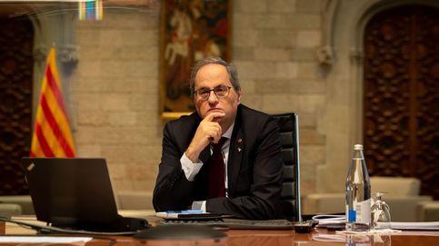 Torra apura sus últimos días en la Generalitat despidiéndose de intelectuales y periodistas
